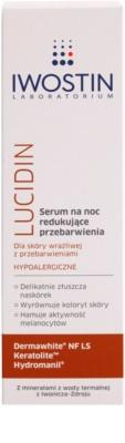 Iwostin Lucidin Nachtserum gegen Pigmentflecken 2