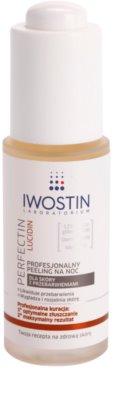 Iwostin Lucidin Perfectin exfoliante de noche profesional contra problemas de pigmentación