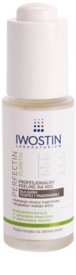 Iwostin Purritin Perfectin exfoliante de noche profesional para pieles grasas con tendencia acnéica