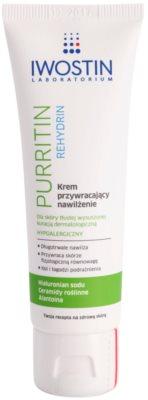 Iwostin Purritin Rehydrin hydratační krém pro pleť vysušenou a podrážděnou léčbou akné