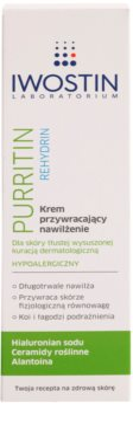 Iwostin Purritin Rehydrin crema hidratanta pentru piele uscata si iritata in urma tratamentului antiacneic 2