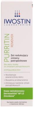 Iwostin Purritin Remover Gel für Unvollkommenheiten wegen Akne Haut 2
