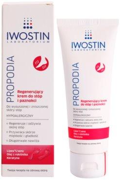 Iwostin Propodia regenerierende Creme für Füße und Nägel 1