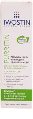 Iwostin Purritin Aktiv-Tagescreme gegen die Unvollkommenheiten der Haut 2