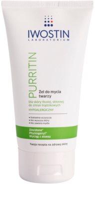 Iwostin Purritin tisztító gél az aknéra hajlamos zsíros bőrre