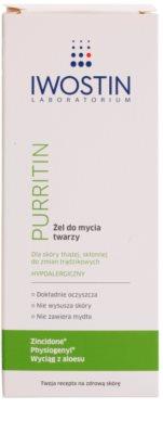 Iwostin Purritin żel do mycia do skóry tłustej ze skłonnością do trądziku 2