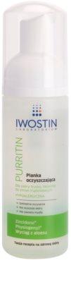 Iwostin Purritin mousse de limpeza para pele oleosa propensa a acne
