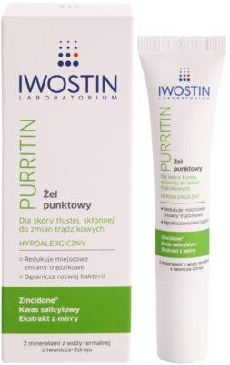 Iwostin Purritin gel proti černým tečkám 1