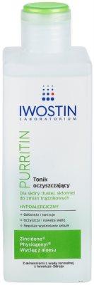 Iwostin Purritin oczyszczający tonik do skóry tłustej ze skłonnością do trądziku