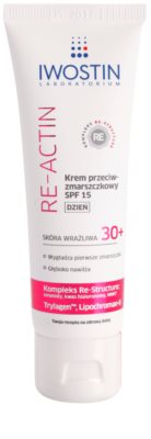 Iwostin Re-Actin crema de zi pentru contur  SPF 15