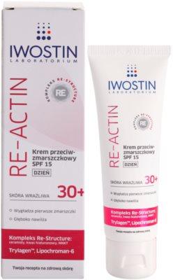 Iwostin Re-Actin dnevna krema proti gubam SPF 15 1