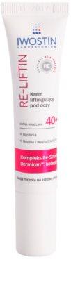 Iwostin Re-Liftin crema cu efect lifting pentru ochi pentru piele sensibila
