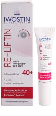 Iwostin Re-Liftin crema para contorno de ojos con efecto lifting para pieles sensibles 1