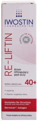 Iwostin Re-Liftin crema cu efect lifting pentru ochi pentru piele sensibila 2