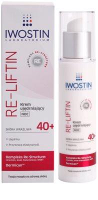 Iwostin Re-Liftin creme de noite refirmante para pele sensível 1