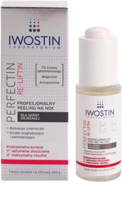Iwostin Re-Liftin Perfectin exfoliant profesional pentru noapte pentru ten matur 1