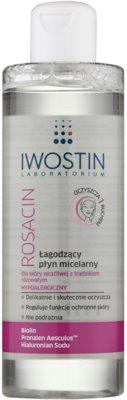 Iwostin Rosacin agua micelar limpiadora para pieles sensibles con tendencia a las rojeces