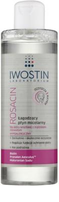 Iwostin Rosacin Mizellar-Reinigungswasser für empfindliche Haut mit der Neigung zum Erröten