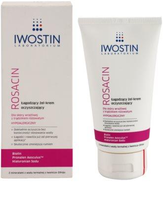 Iwostin Rosacin čisticí gelový krém zklidňující 1