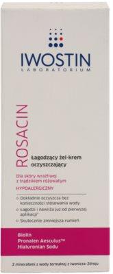 Iwostin Rosacin čisticí gelový krém zklidňující 2
