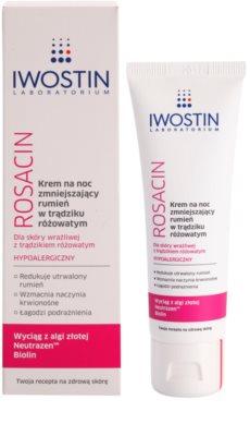 Iwostin Rosacin crema de noapte -reducere roseata 1