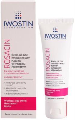 Iwostin Rosacin crema de noche antirojeces 1