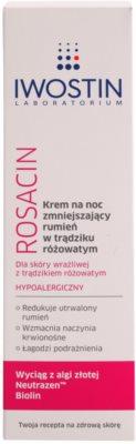 Iwostin Rosacin crema de noapte -reducere roseata 2