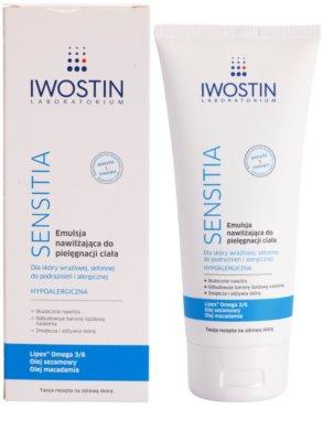 Iwostin Sensitia Feuchtigkeitsemulsion für empfindliche und gereizte Haut 1