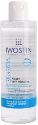 Iwostin Sensitia upokojujúca čistiaca micelárna voda pre citlivú a alergickú pleť