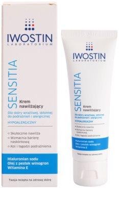 Iwostin Sensitia krem nawilżający do skóry wrażliwej i alergicznej 1