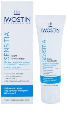 Iwostin Sensitia hydratačný krém pre citlivú a podráždenú pleť 1