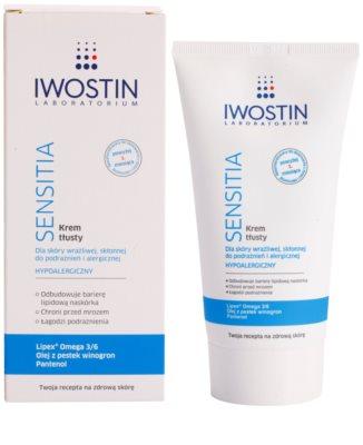 Iwostin Sensitia extra tápláló krém az érzékeny és allergiás bőrre 1