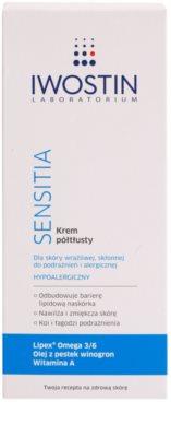 Iwostin Sensitia поживний крем для чутливої шкіри та шкіри, схільної до алергії 2