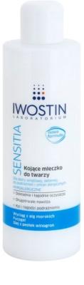 Iwostin Sensitia nyugtató tisztitótej az érzékeny és allergiás bőrre