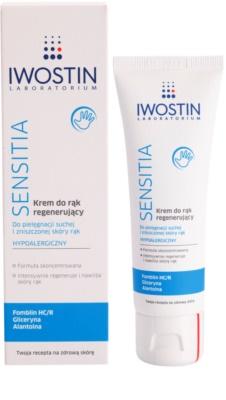 Iwostin Sensitia regeneráló krém kézre 1