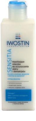 Iwostin Sensitia hidratáló sminklemosó tej