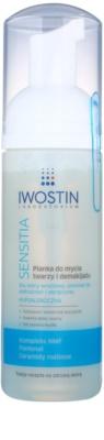 Iwostin Sensitia tisztító és szemlemosó hab az érzékeny és allergiás bőrre