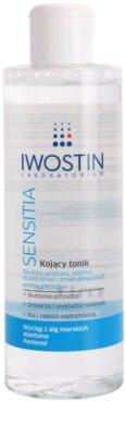 Iwostin Sensitia tónico de limpeza calmante para pele sensível e alérgica