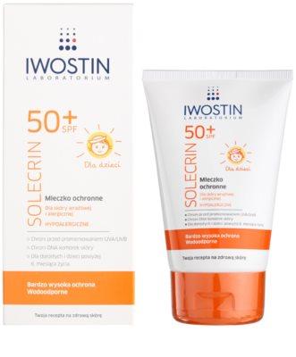 Iwostin Solercin schützende Hautmilch für Kinder SPF 50+ 1