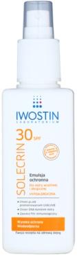 Iwostin Solercin schützende Emulsion mit Zerstäuber SPF 30