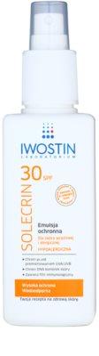 Iwostin Solercin védő emulziós spray SPF 30