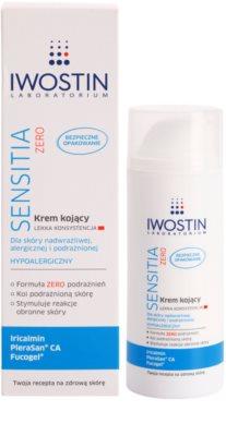 Iwostin Sensitia Zero лек успокояващ крем за чувствителна и алергична кожа 1