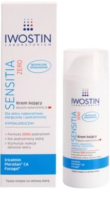 Iwostin Sensitia Zero die beruhigende Creme für empfindliche und allergische Haut 1