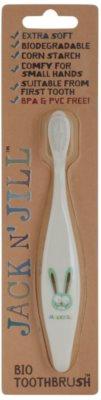Jack N' Jill Bunny BIO-Zahnbürste für Kinder extra soft
