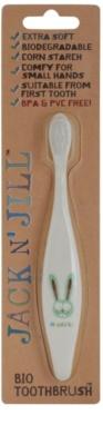 Jack N' Jill Bunny escova de dentes BIO para crianças extra suave