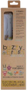 Jack N' Jill Buzzy Brush cepillo dental a pilas con música para niños suave 3