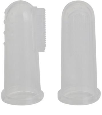 Jack N' Jill Silicone dětský zubní kartáček na prst soft