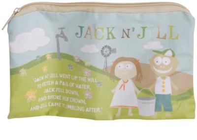 Jack N' Jill Sleepover táska természetes pamutból