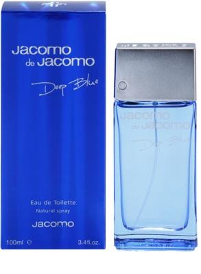 Jacomo Jacomo de Jacomo Deep Blue туалетна вода для чоловіків