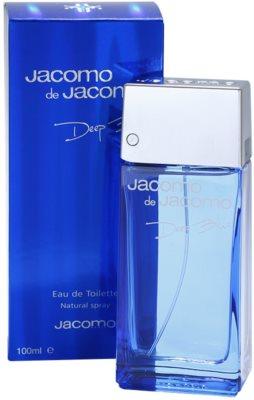 Jacomo Jacomo de Jacomo Deep Blue toaletná voda pre mužov 1